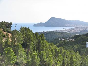 Nice apartment with panorama sea view in Altea