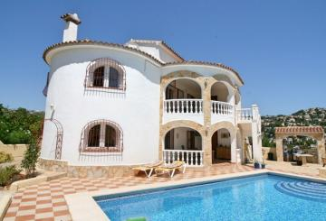 Nice Villa with guest Apartment in Benissa