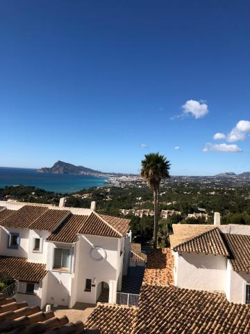 Detached house in Altea Hills with great ocean views